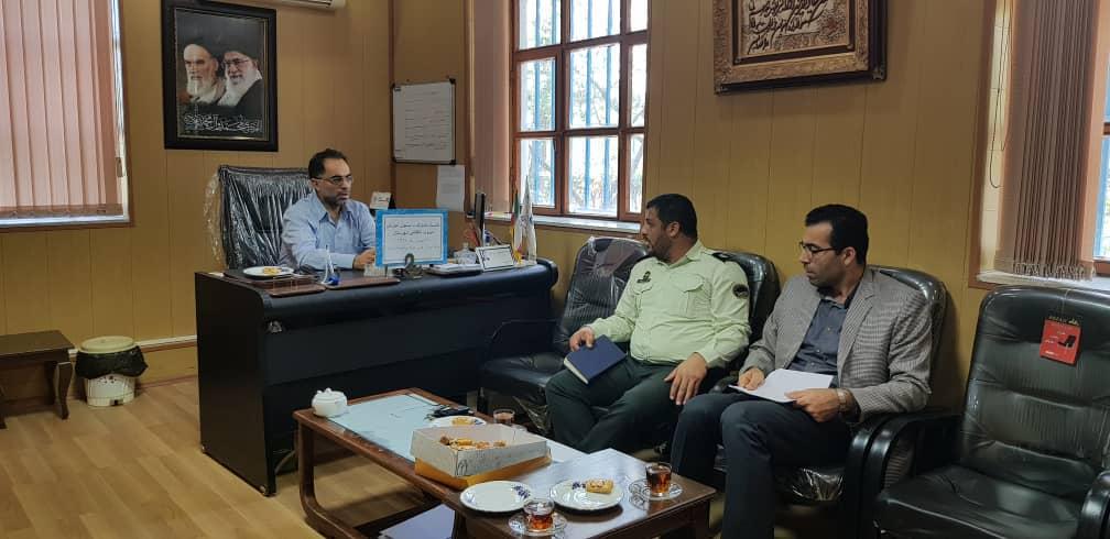 نشست مشترک با مسول آموزش نیروی انتظامی