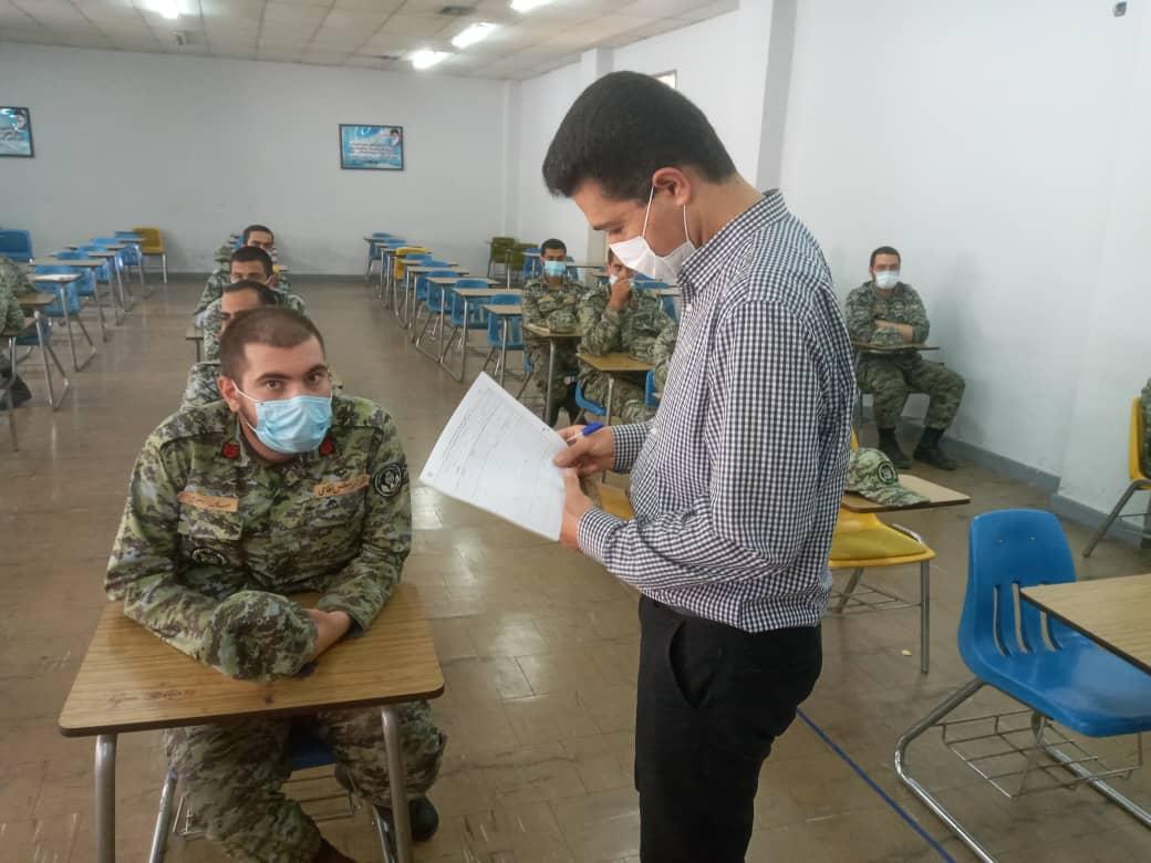 برگزاری سومین دوره آزمون ادواری پروژه محور نیروهای مسلح
